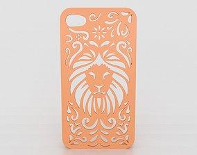 Tribal Lion Floral Iphone Case 6 6s 3D printable model