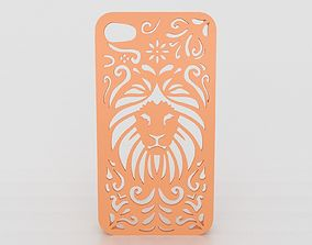 Tribal Lion Floral Iphone Case 6 6s 3D printable model