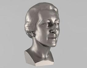 Printable bust of woman