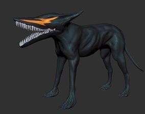 Berserk hellhound 3D printable model demon