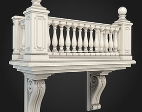 3D model design Balcony