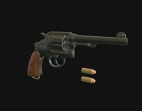 3D model M1917 Revolver