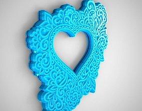 3D print model Heart Frame