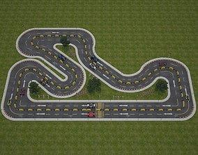 Race Track 3D model racing
