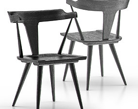 Westan Dining Chair 3D asset
