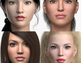 girl 3D Female model Collection Vol 02