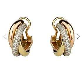 Earrings 404 3D printable model