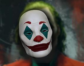 3D printable model cinema Joker mask