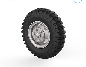 3D printable model Vehicle wheels 1-32