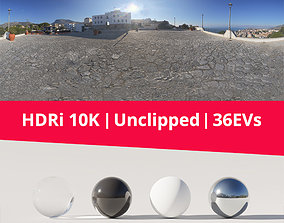 3D model HDRi - Square Landscape and Sun