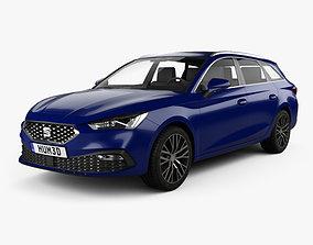 Seat Leon sportstourer Xcellence 2020 3D