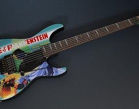 3D Kirk Hammett ESP KH-3 Frankenstein