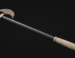 3D model Iron Battle Axe