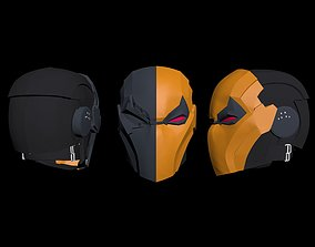 Deathstroke helmet cosplayprops 3D print model