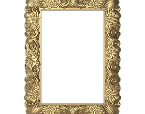 Carved Picture Frame 3D victorian