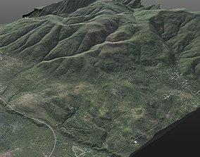 Realistic 8K Very High Detailed Terrain 3D