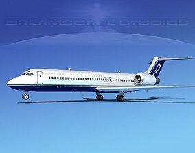 3D model Boeing 717-200 Air Charter Intl
