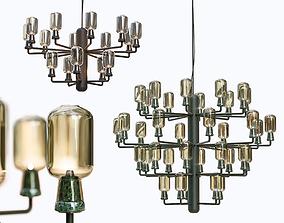 3D model Normann Copenhagen Amp chandelier