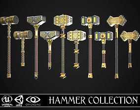 Complete Fantasy Hammer Collection 3D