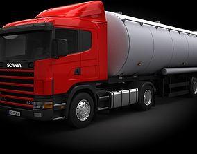 3D model Scania R420 Tanker