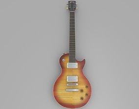 Guitar Gibson Les Paul guitar 3D model