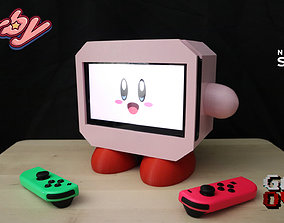 Kirby Nintendo Switch Stand 3D Print Model