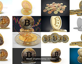 3D Bitcoin Cryptocurrency