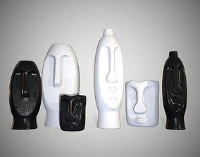 3D model Vases in The Form of Idols