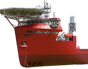 3D Offshore Carrier RED