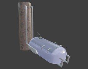 Futuristic Sleeping Pod 3D model