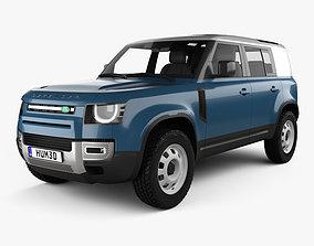 3D Land Rover Defender 110 HardTop 2020