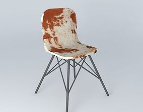 Cow chair AUSTERLITZ Maisons du monde 3D