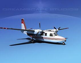 3D Rockwell Aero Commander 560 V13