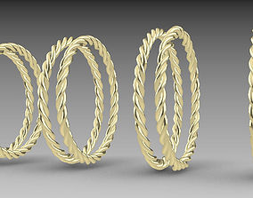 Rope ring model part
