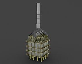 refinery furnace 3D model