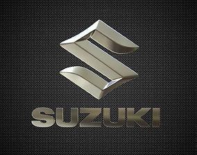 vehicle 3D suzuki logo