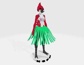 regular show margaret beach 3D printable model