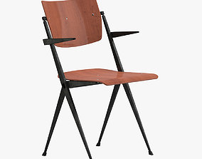 3D Wim Rietveld Chair