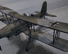 Fieseler Fi-167 Pavla 3D