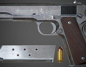 3D model Colt M1911 A1 - PBR Game-Ready