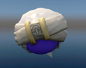 3D asset Turban