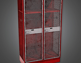 Sports Locker 02a - Sports And Gym 3D asset