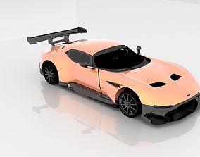 2016 Aston Martin Vulcan-HQ GameReady 3D model