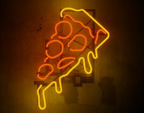 light Neon 3D Model 3 - THE PIZZA