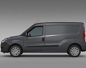 3D model Vauxhall Combo H1L2 Cargo 2015