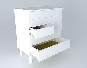 3D model shelf Drawer