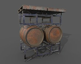Pantry stand 3D asset