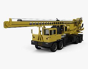 3D VDC Drill Rig Truck 2014