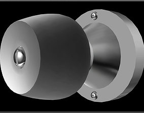 3D asset Door knob