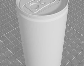 Soda can 200ml 3D
